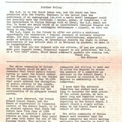 The G.P. (3rd Issue)