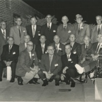 Group Photo Outside of a Hall