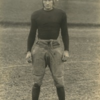 Portrait of a Man with Sports Gear